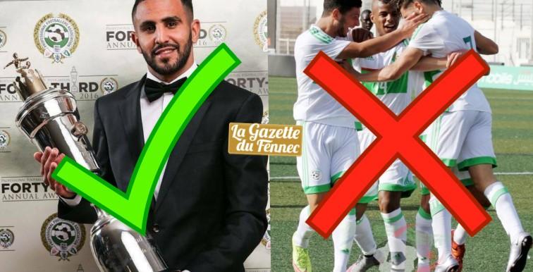 FAF : les félicitations à Mahrez mais pas aux U20