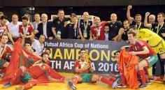 CAN 2016 Futsal : le Maroc champion d'Afrique !