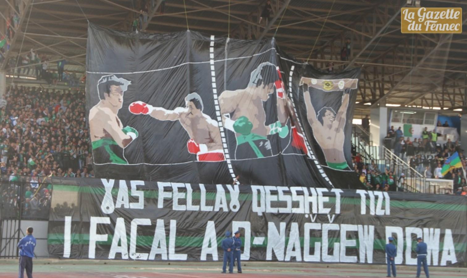 mob supporters tiffo bejaia