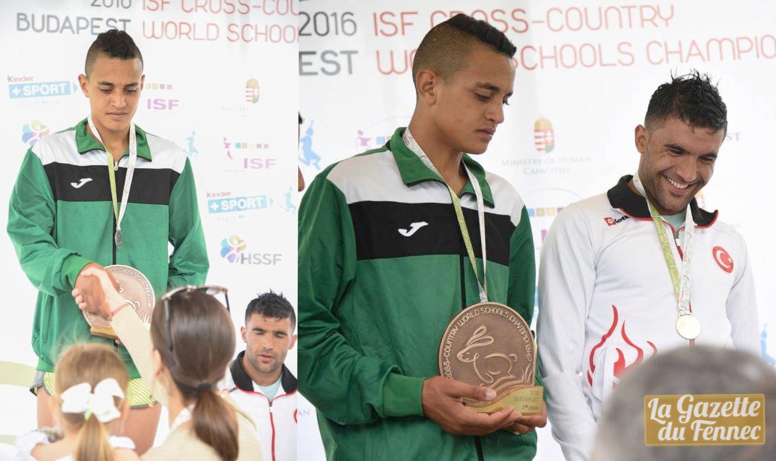 said derbal athlétisme podium cross budapest 2016