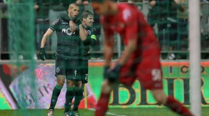 Liga Nos : Islam Slimani et le Sporting assurent le minimum