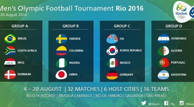 JO 2016 : le programme des rencontres de l'Algérie