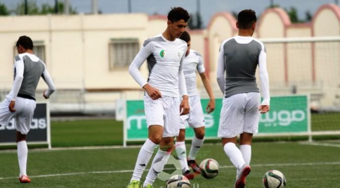 U17 : la sélection en stage à Sidi Moussa avant le Gabon