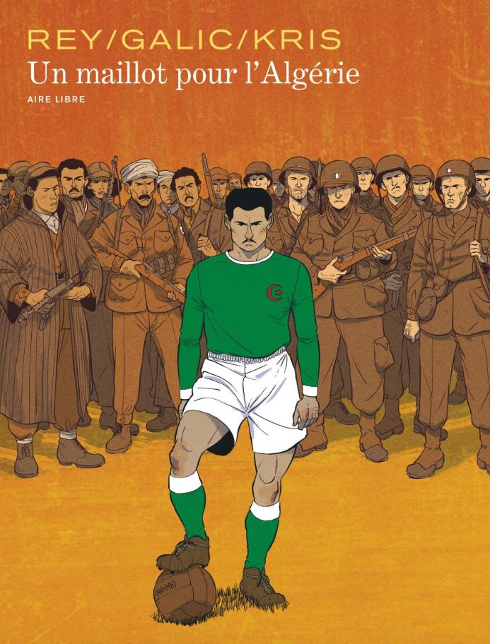 un maillot pour l'Algérie couverture BD
