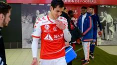 Stade de Reims : les larmes d'Aïssa Mandi