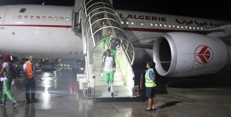 EN : arrivée des Verts aux Seychelles