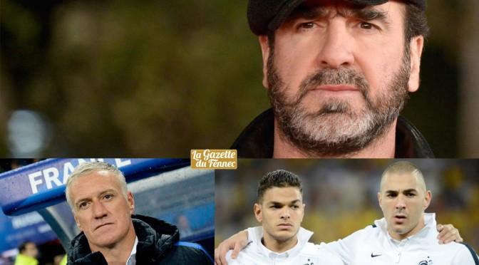 Euro 2016 : Cantona accuse Deschamps de racisme pour les cas Benzema, Ben Arfa !