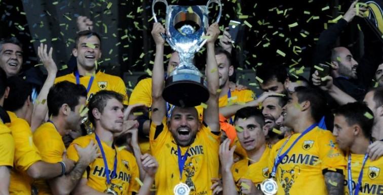 (VIDEO) Djebbour offre la Coupe à l'AEK !