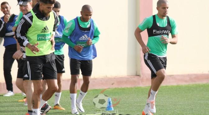 EN : entrainement au complet à Sidi Moussa