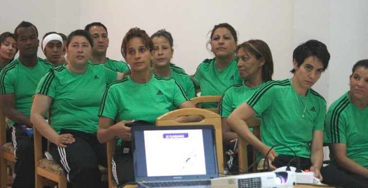 FAF : stage de formation pour le foot féminin