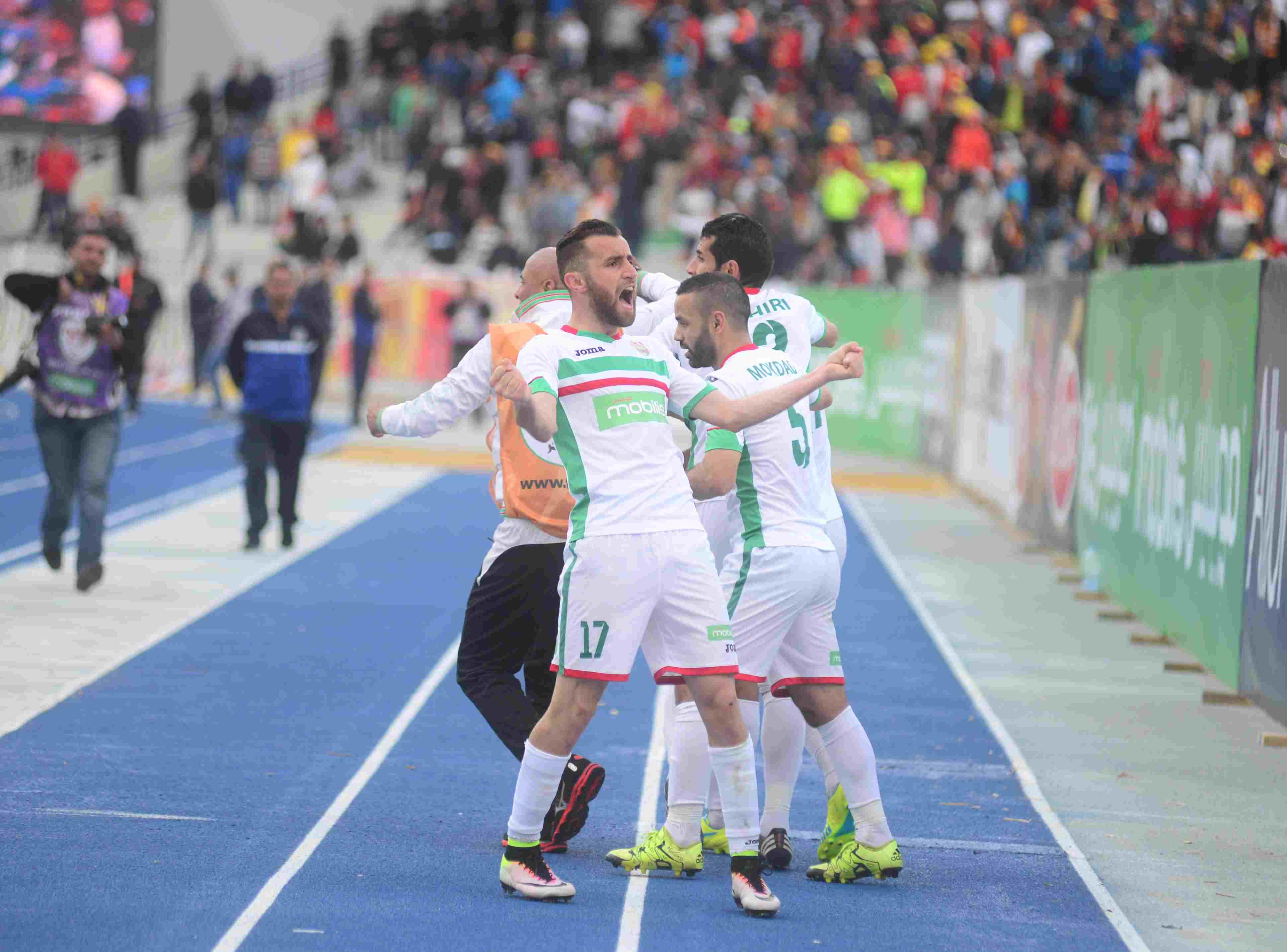 joie derradja finale coupe d'algerie nahd mca