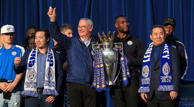 Premier League: Ranieri nommé manager de l'année!