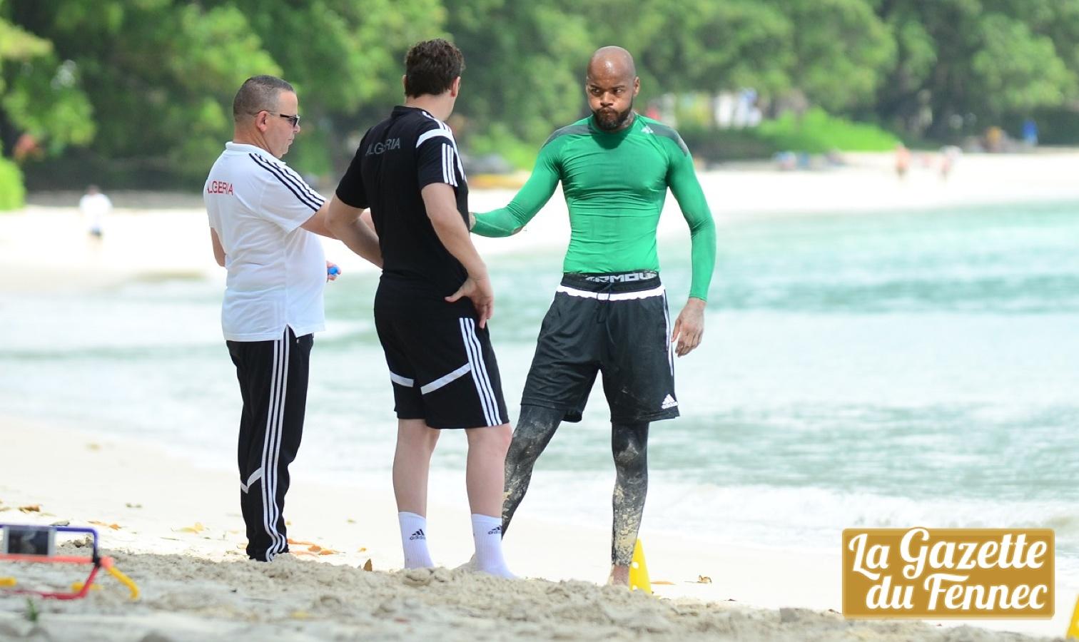 mbolhi entrainement plage seychelles
