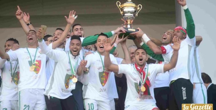 Le MCA remporte la Coupe d'Algérie face au NAHD (1-0)
