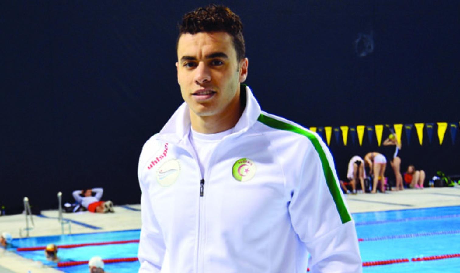 oussama sahnoune natation