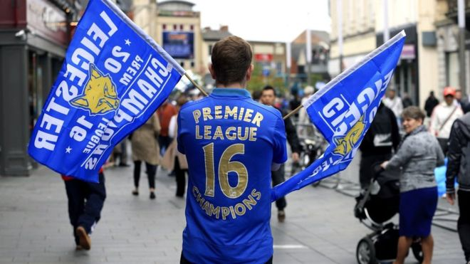 supporters Leicester
