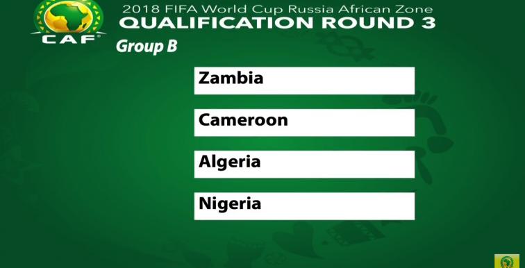 WC 2018 : l'Algérie dans le Groupe de la mort !!!!!