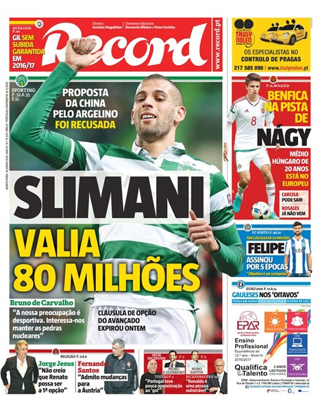 Record Slimani 80m