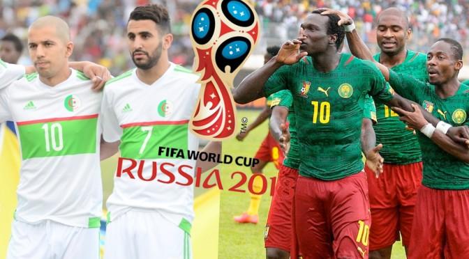 WC 2018 – calendrier du groupe B : Algérie-Cameroun en ouverture !