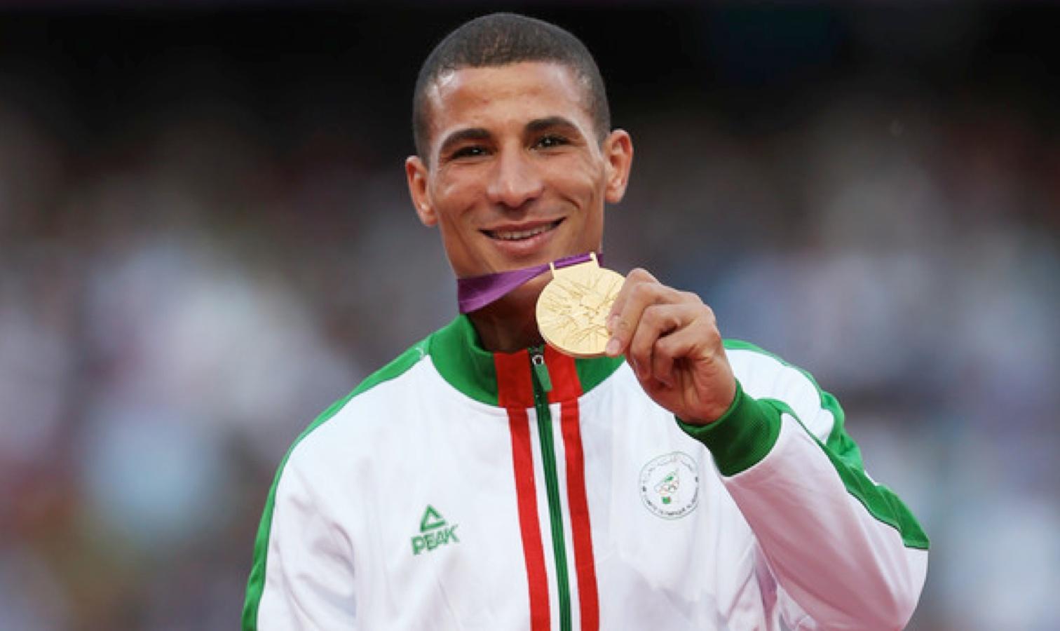 makhloufi medaille d'or londres