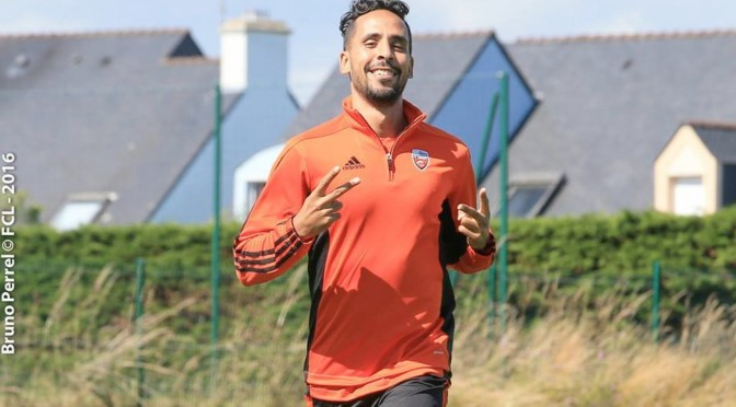 Lorient : Walid Mesloub prolonge jusqu'en 2018 (Officiel)
