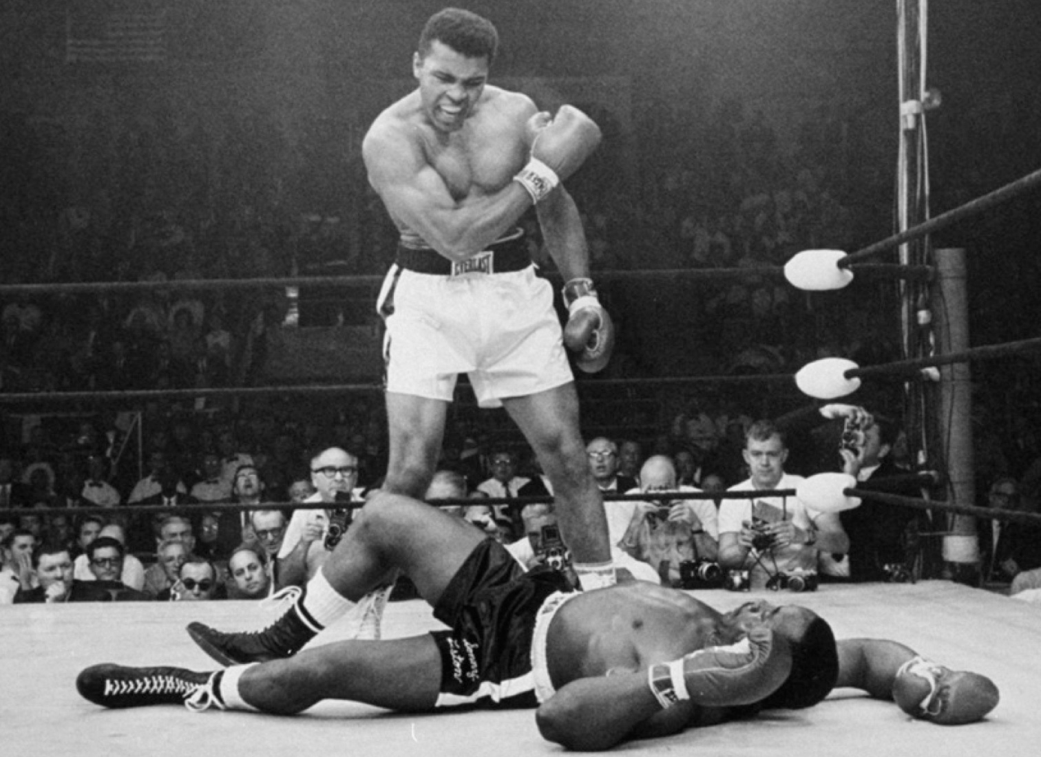 mohamed ali boxe liston greatest