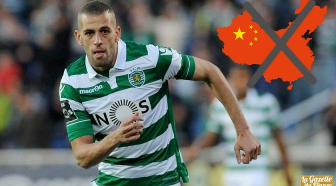 Mercato: Le Sporting refuse 80M de Chine pour Slimani et rembarre 3 clubs anglais !