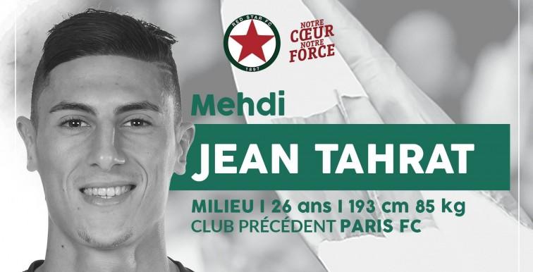 Mercato : Tahrat signe 3 ans au Red Star !