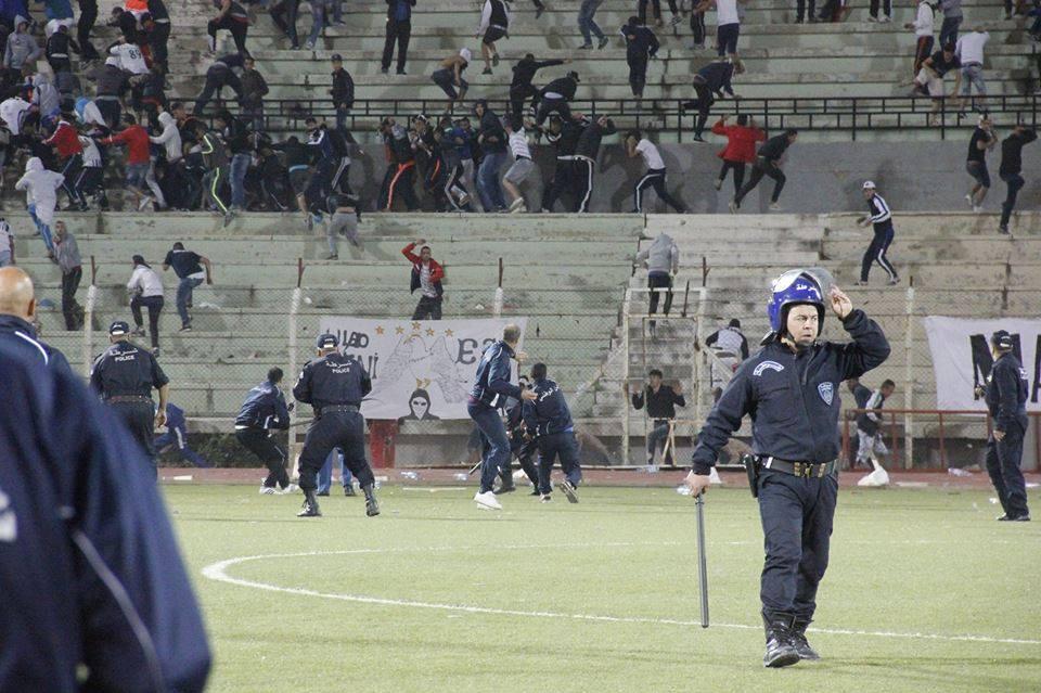 violence sétif police supporters