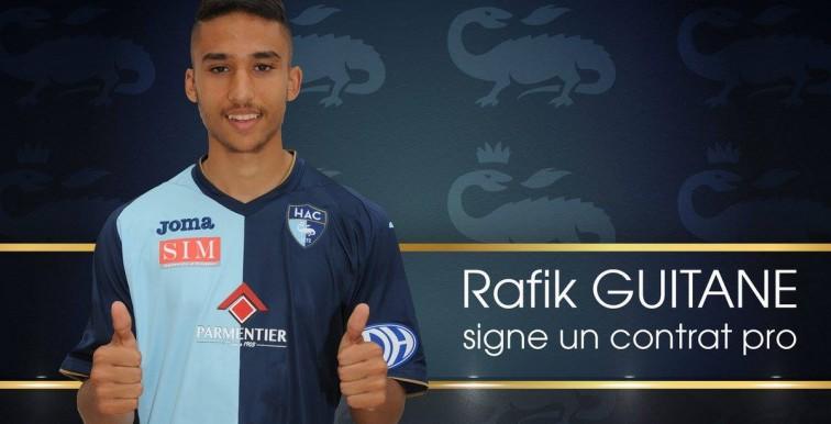 Le Havre : Premier contrat professionnel pour Rafik Guitane