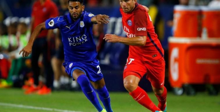 Leicester : le match de Mahrez face au PSG (0-4)
