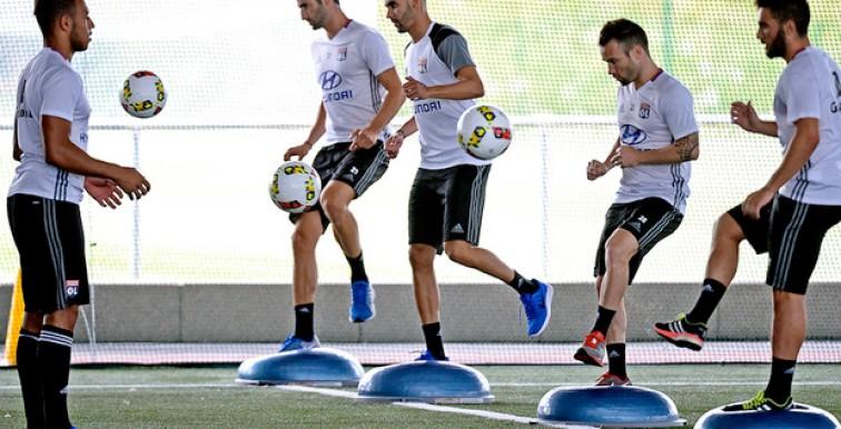 Lyon : Rachid Ghezzal a repris les entrainements