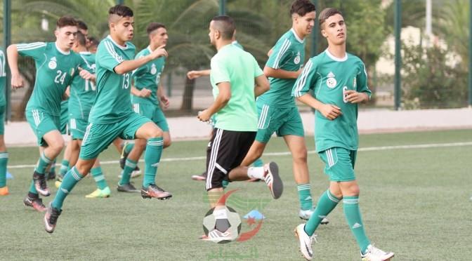 U17 : 23 joueurs retenus pour Algérie-Tunisie en amical