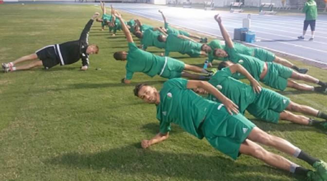 JO-2016 : Premier entraînement des U23 à Rio