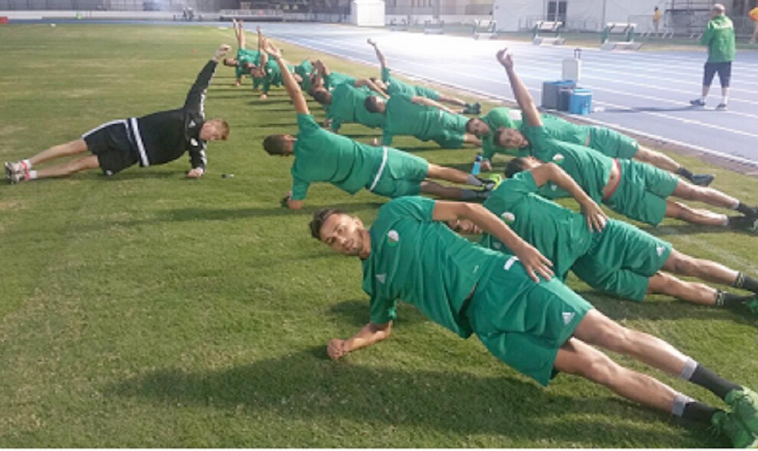 U23 entrainement Rio