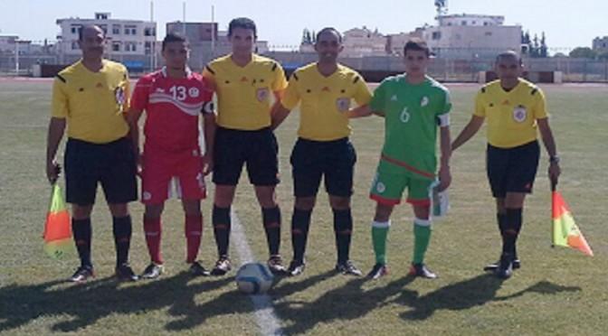 U17 : l'Algérie boucle son stage en Tunisie par un match nul