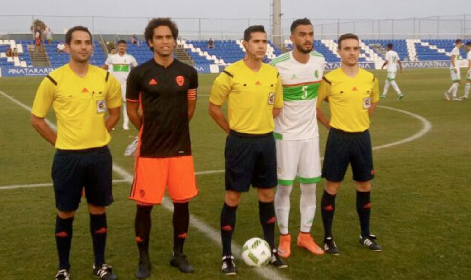 amical valence algerie U23