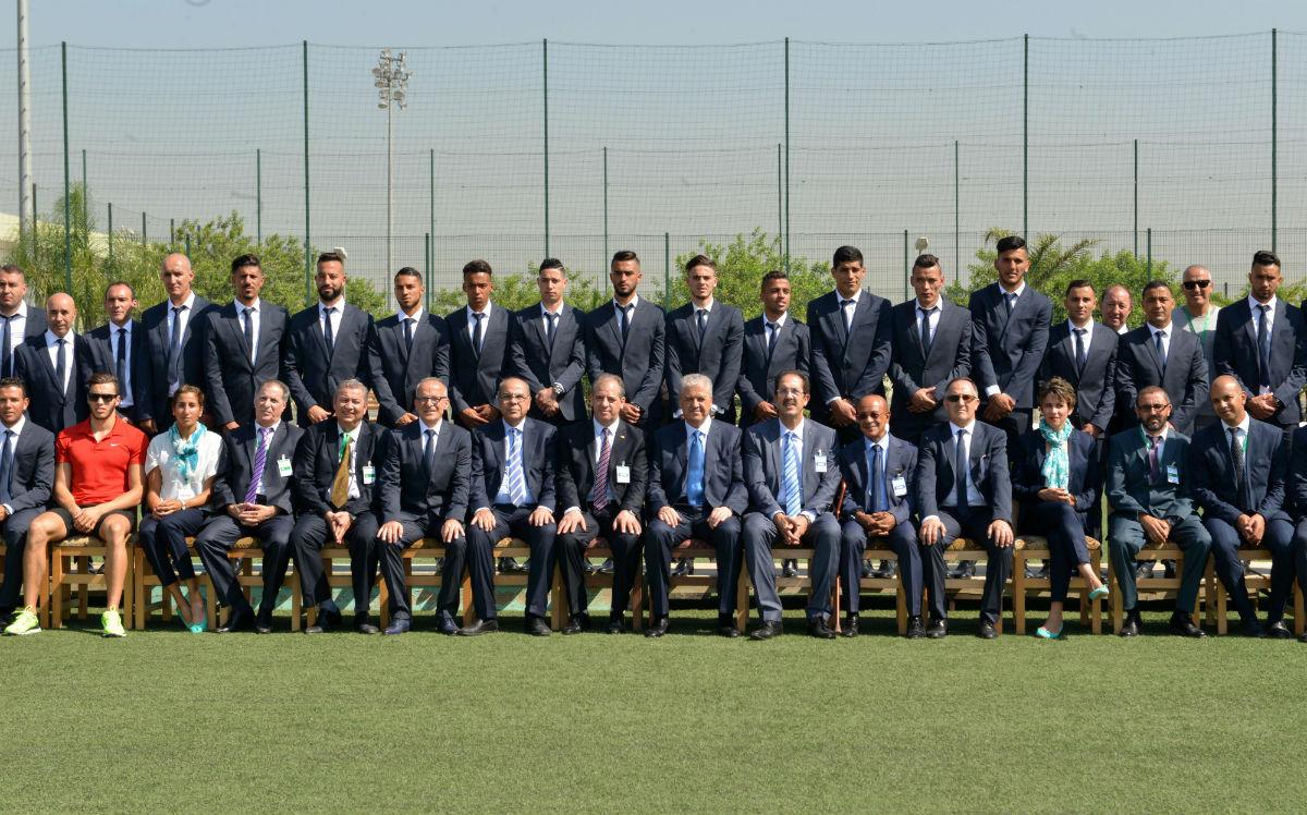 délégation algérienne JO-RIO