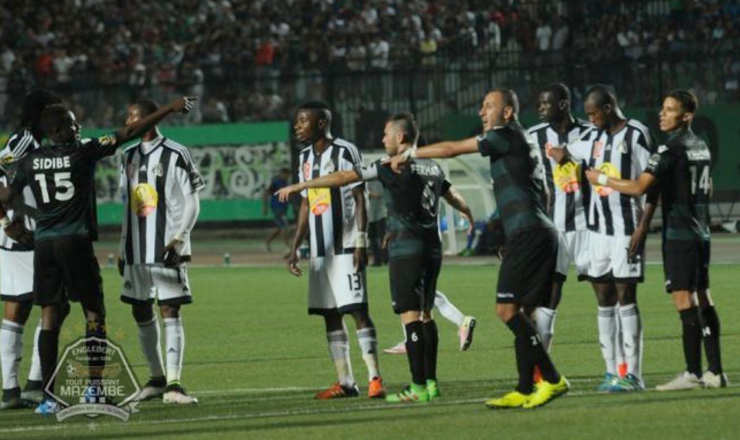 duel corner TP Mazembe MOB CAF