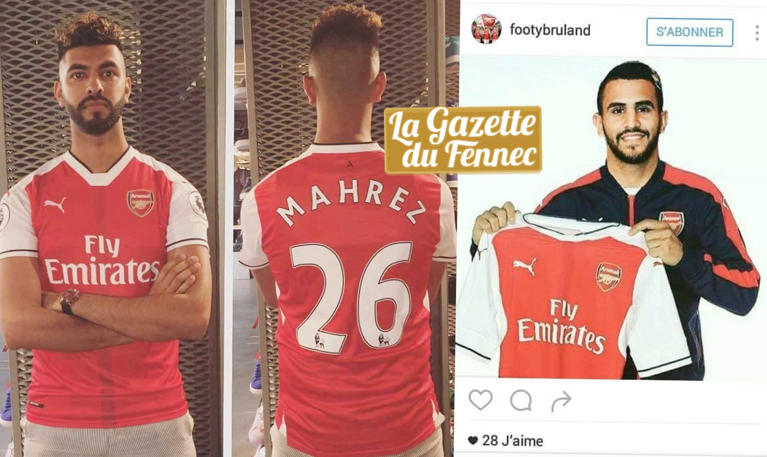 mahrez arsenal