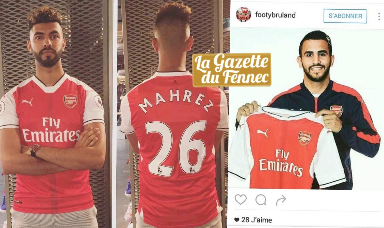 fake mahrez Arsenal