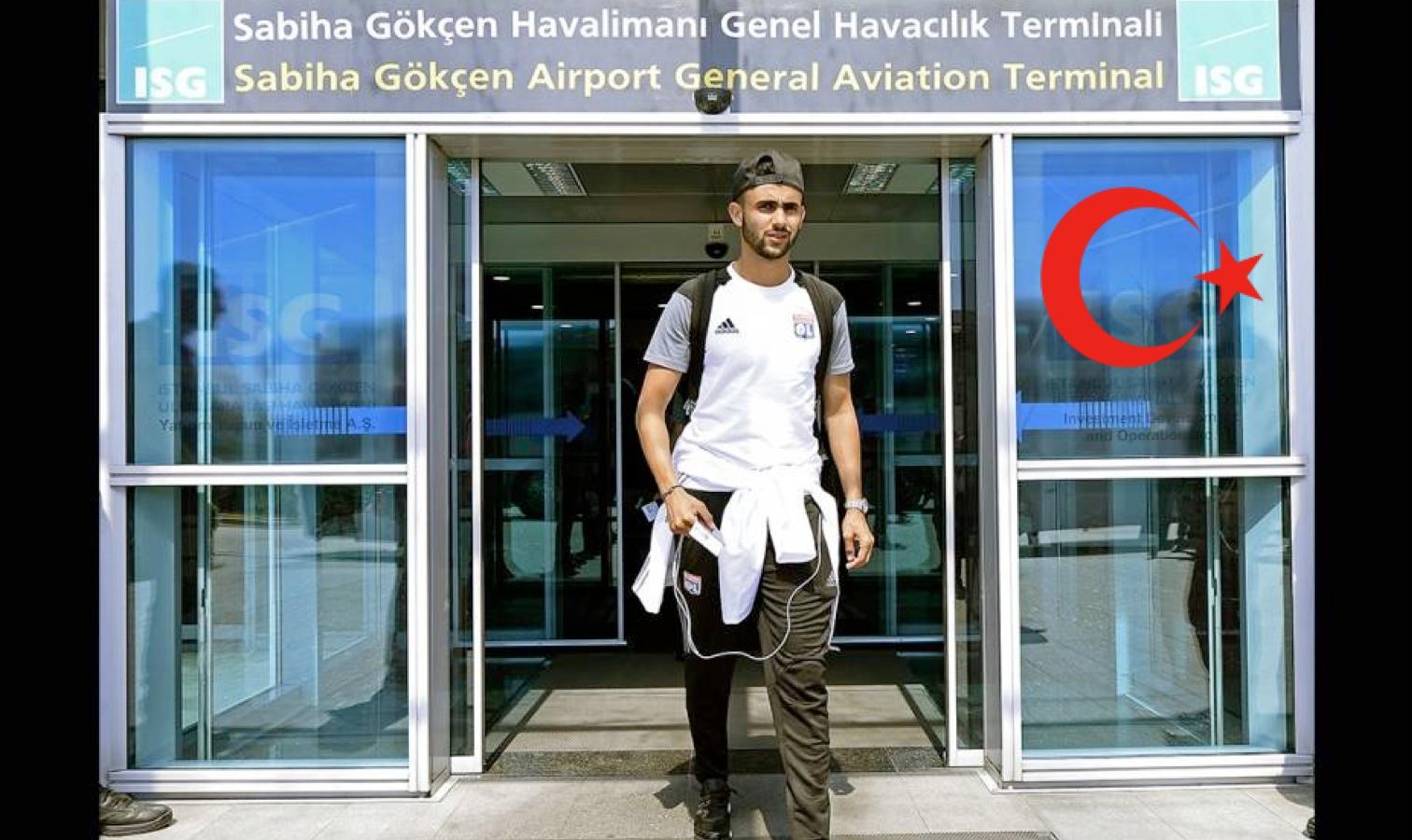 ghezzal aéroport turquie