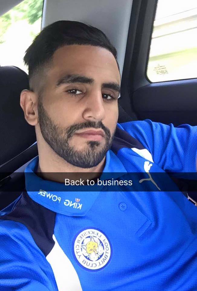 mahrez de retour à Leicester