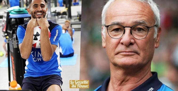 Ranieri : «Mahrez est encore sous contrat avec nous !»