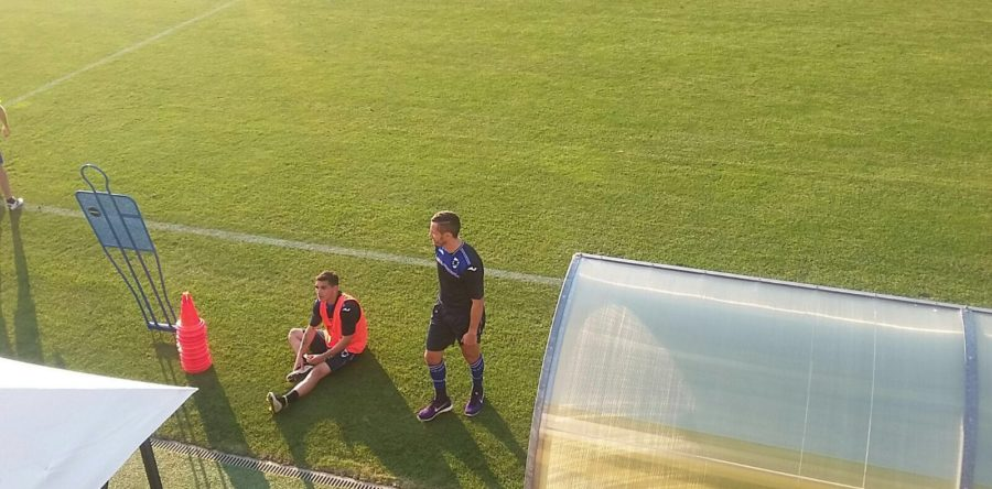 mesbah entrainement Sampdoria