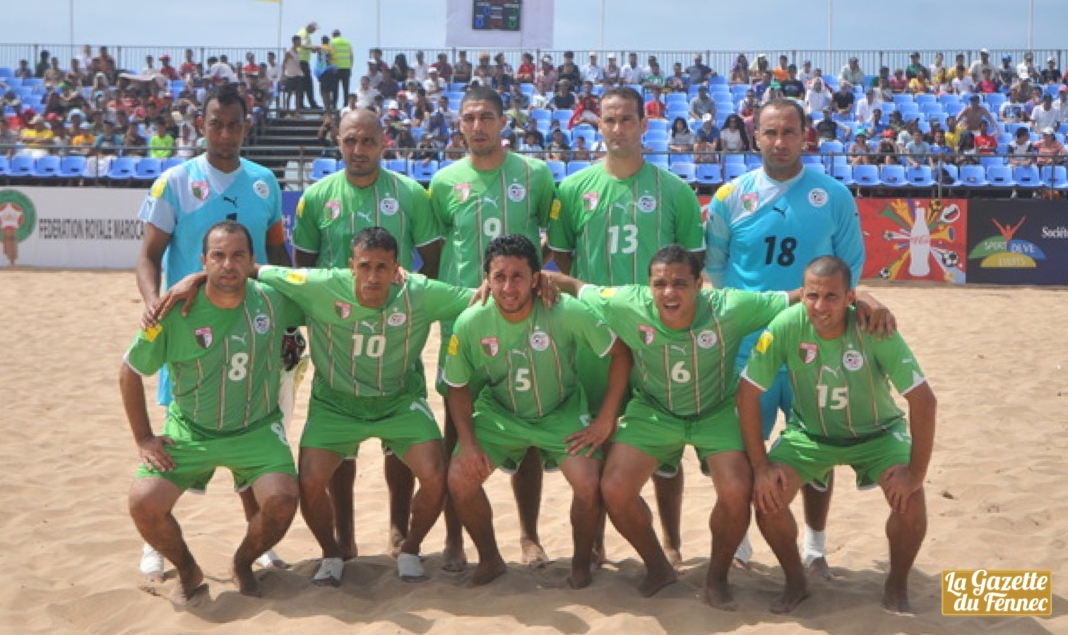 onze beach soccer algerie