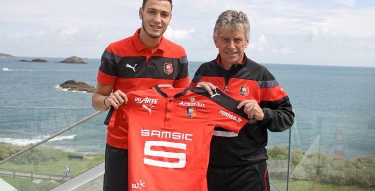 Mercato : Rennes repousse une offre de Lille pour Bensebaini