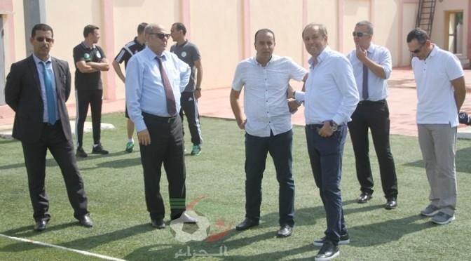 EN : Rajevac épaté par les installations de Sidi Moussa