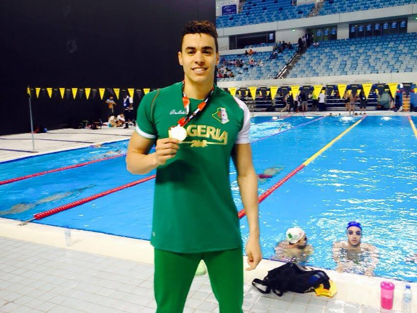 sahnoune oussama natation or