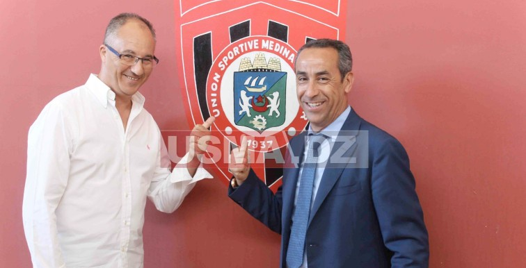 USMA : le Président du SCO Angers en visite à Bologhine
